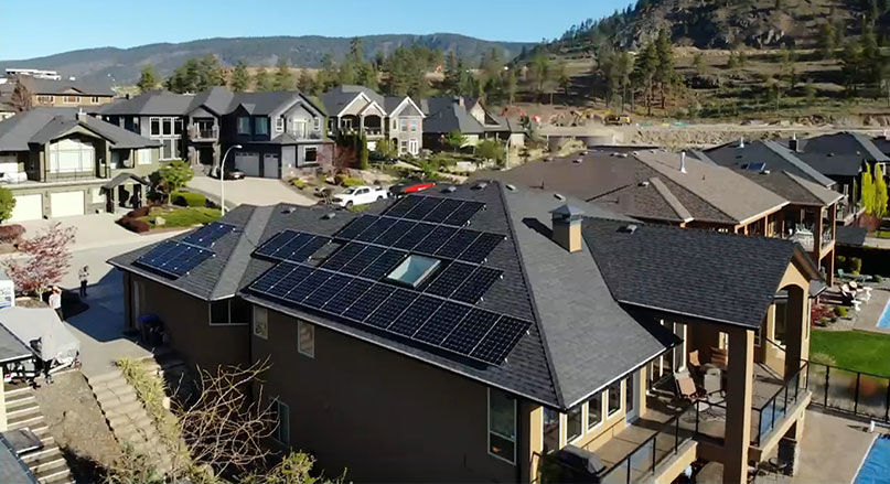 Check out the various projects from Okanagan Solar.